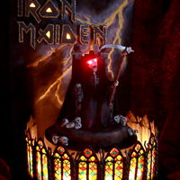Iron Maiden Cake This cake I made for the birthday of my son. Everything is hand-made and painted. I hope you like it! :)