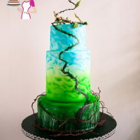 Jack And The Beanstalk Inspired Cake Inspired by the fairy tale this Jack and the Beanstalk cake was made for the Stylize Fairy Tale Collaboration with cake artist all around...