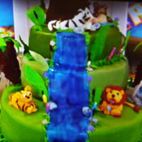 Jungle Baby Shower baby shower cake