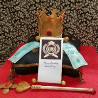 King For A Day Make the birthday boy feel like a kingAll hand made