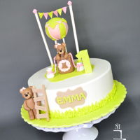 Little Bear For Little Princess diameter 25