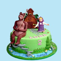 Masha And The Bear Masha and the bear cake