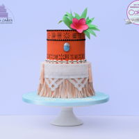 Moana Inspired Cake I entered my Moana inspired cake in Class D ( Celebration Cake for a special Occasion) at the Cake International and was awarded silver...