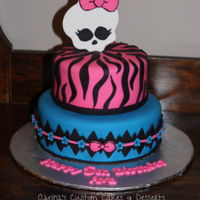 Monster High Cake Monster High