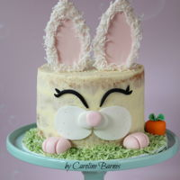 Naked Easter Bunny Cake Naked Easter Bunny Cake Easter is a few weeks off but thought I'd get a head start on cake designs. For anyone that would like to...