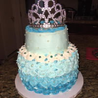 Princess Cake buttercream cake