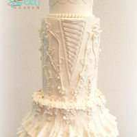Rose ... Old And Lace I created this cake for a That Take the Cake Sugar Art & Competition in Austin Tx. I win 3er place on ShowCake Wedding Style. I'm...