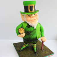 Seamus The Leprechaun For the week that's in it: Happy St. Patrick's Day, folks Seamus is made from Belgian Chocolate Mud Cake and Rice...