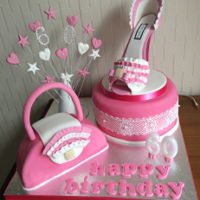 Shoe Cake 60th birthday cake