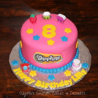 Shopkins Cake Basic Shopkins