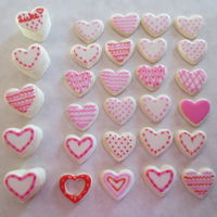 Valentine's Day Cookies More GF and Vegan cookies