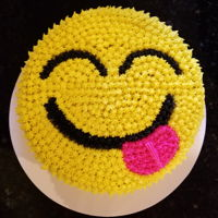 Yum Emoji I made this for a friend. It's the first cake I have ever sold. I'm not quite ready for scratch recipes so it is box mix and can...