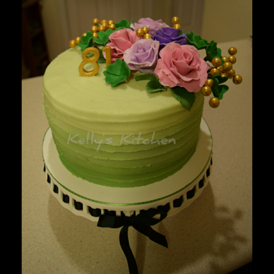 81St Birthday Cake 81st birthday cake for a lady whose birthday is on St. Patrick,s day. The request was for something St. Patrick's Day but not too St....