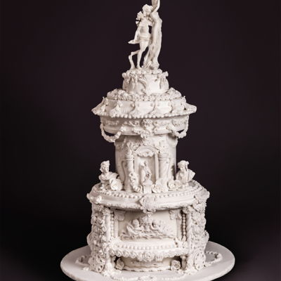 Apollo & Daphne Inspired Bernini Wedding Cake
