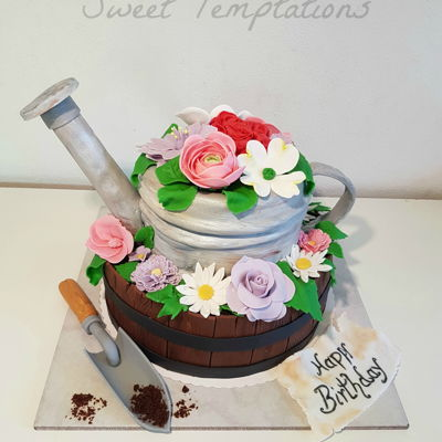 Gardening Cake Birthday cake for friends who love gardening ;)