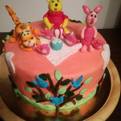 Hb Little Baby Boy Teddy puch cake