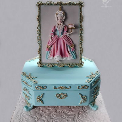 Marie Antoinette This year I decide to make my own birthday cake. I choose a theme Marie Antoinette, Queen of France and Navarre (1755 – 1793)....