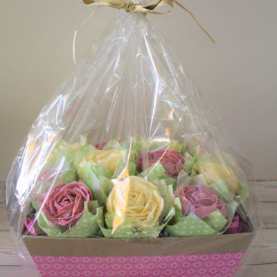 Mother's Day Cupcake Basket/hamper