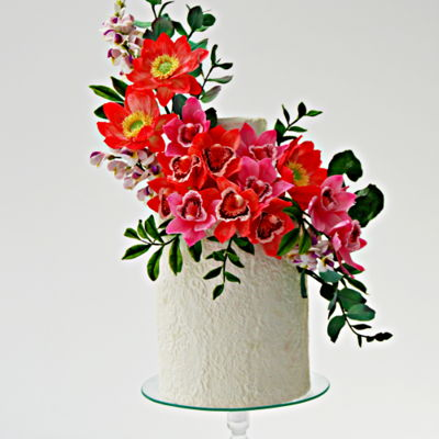 Sugarflowers And Cakes In Bloom World Cancer Day Collaboration