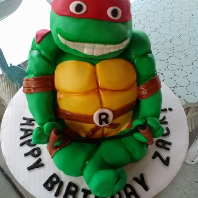 Teenage Mutant Ninja Turtle Cake Teenage Mutant Ninja Turtle Cake