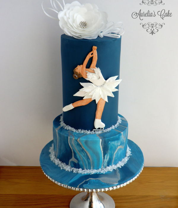 Figure Skating - Sport Cakes For Peace Collaboration