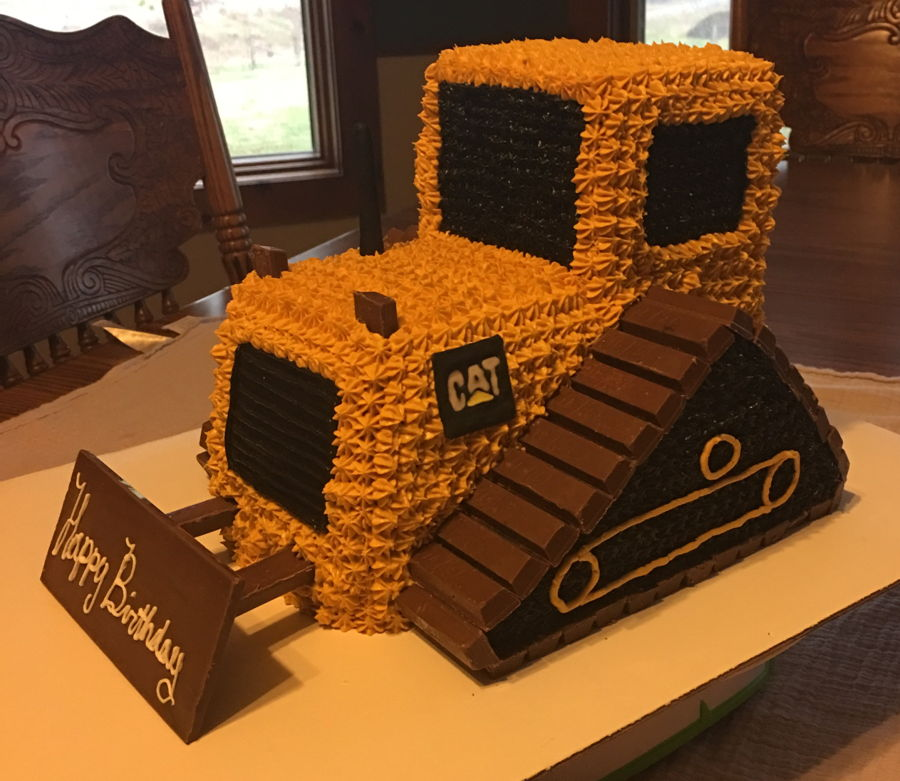 How To Make A D Bulldozer Cake