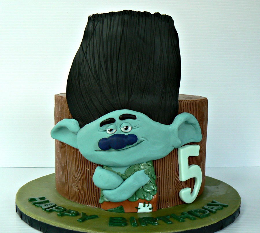 A Grumpy Troll on Cake Central