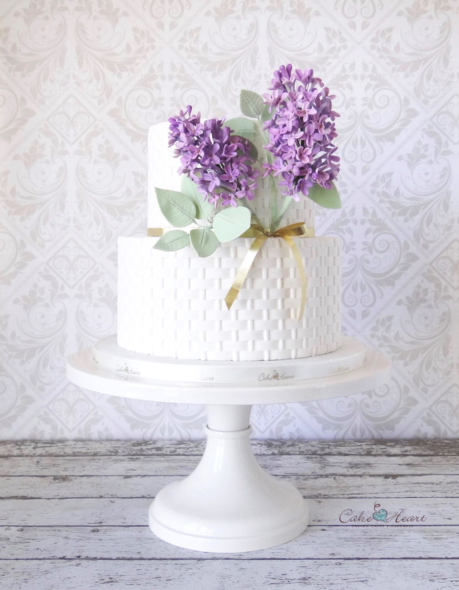 A Little Lilac Cake on Cake Central