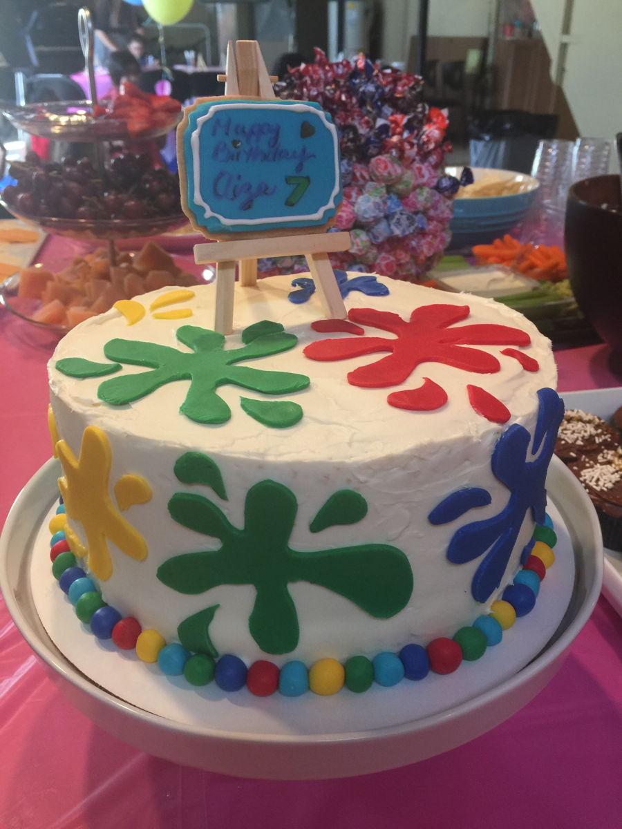 Art Themed Cake : Art Themed Cake - CakeCentral.com