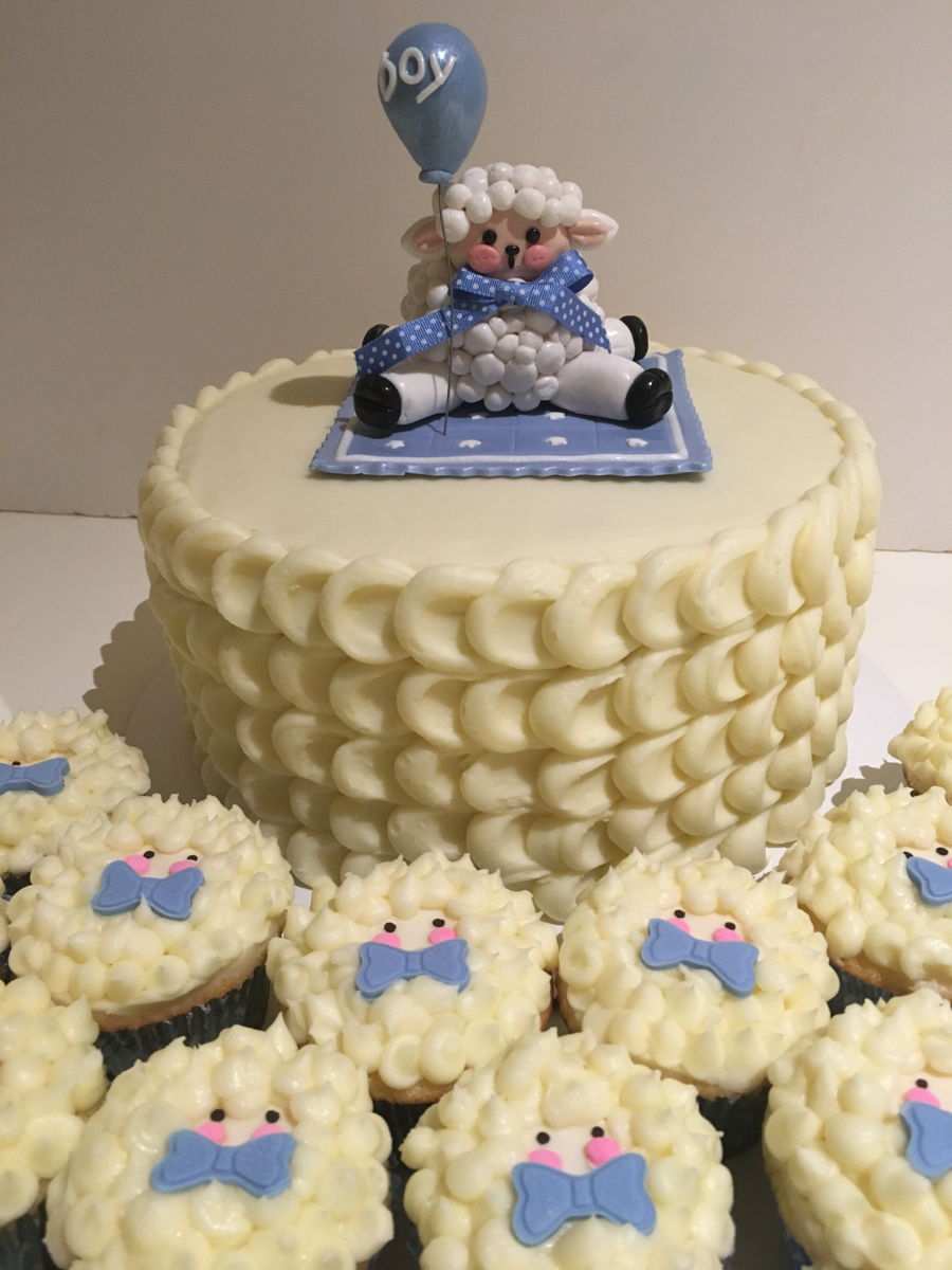 Baby Shower Lamb Cake Cakecentral Com