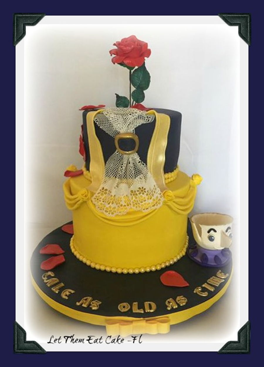 Beauty And The Beast Cake Cakecentral Com