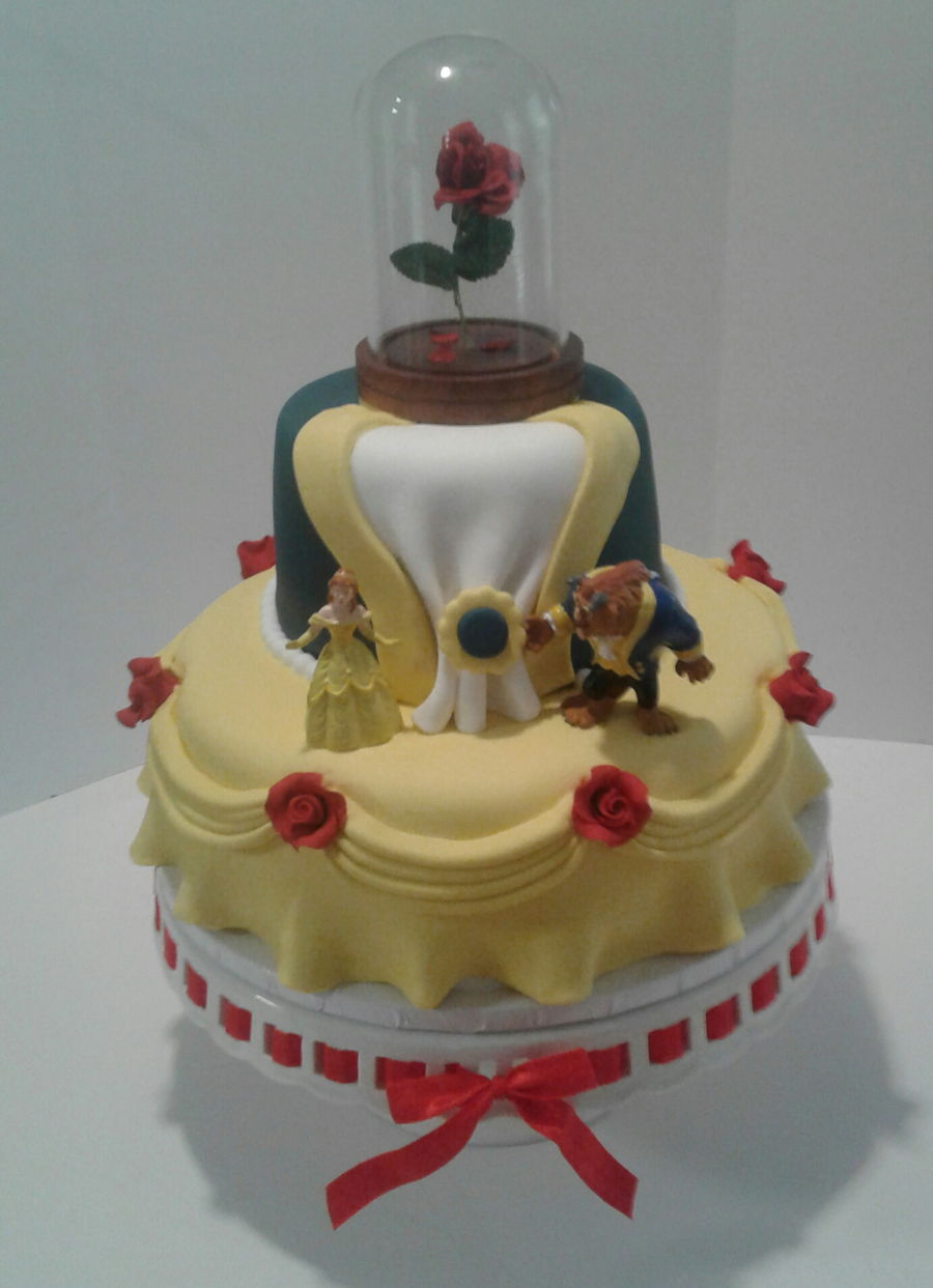 Beauty And The Beast Theme Cake Cakecentral Com