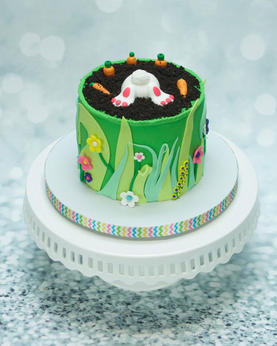 Bunny Butt Cake Cakecentral Com