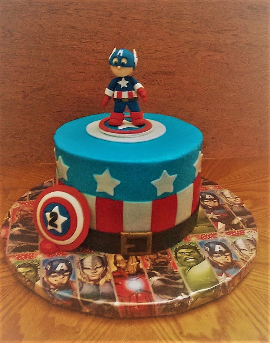 Captain America Cake Ideas The Best Cake 2017