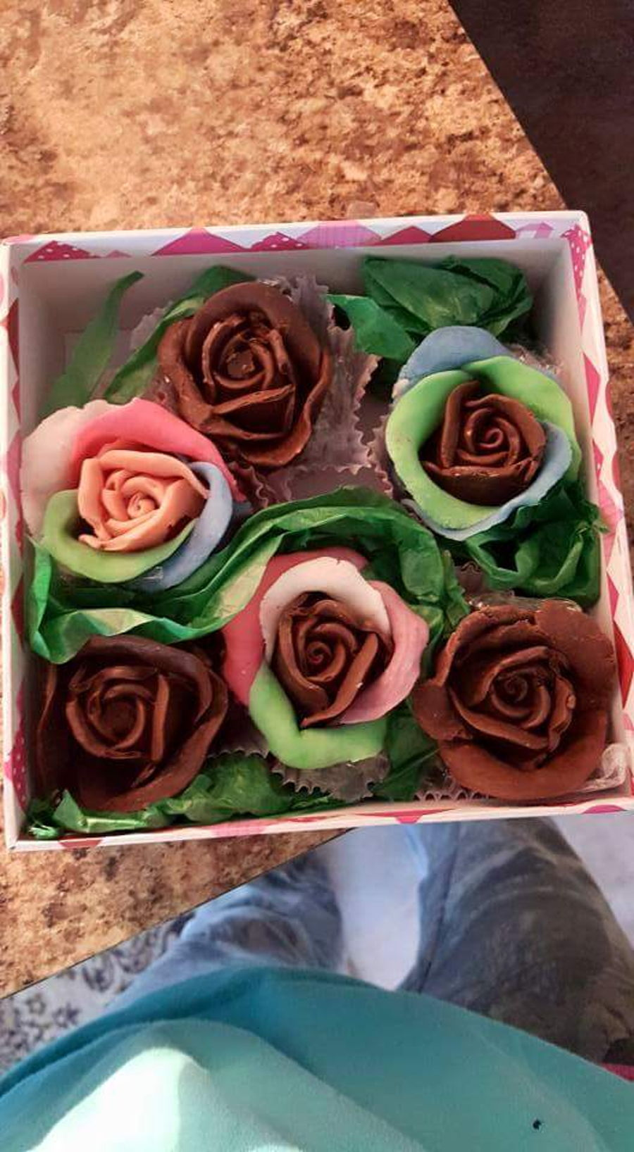 Chocolate Covered Strawberry Roses - CakeCentral.com