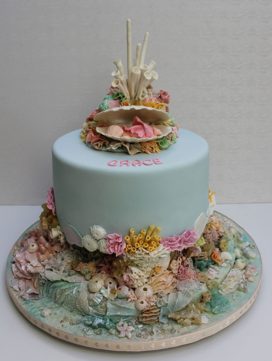 Coral Reef Baby on Cake Central