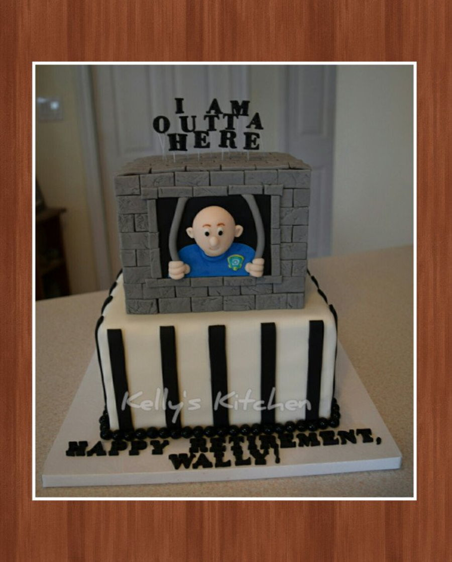 Funny Retirement Cake Ideas