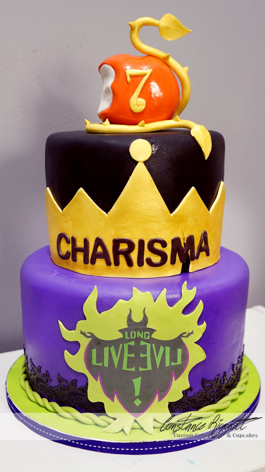 Descendants Cake Cakecentral Com