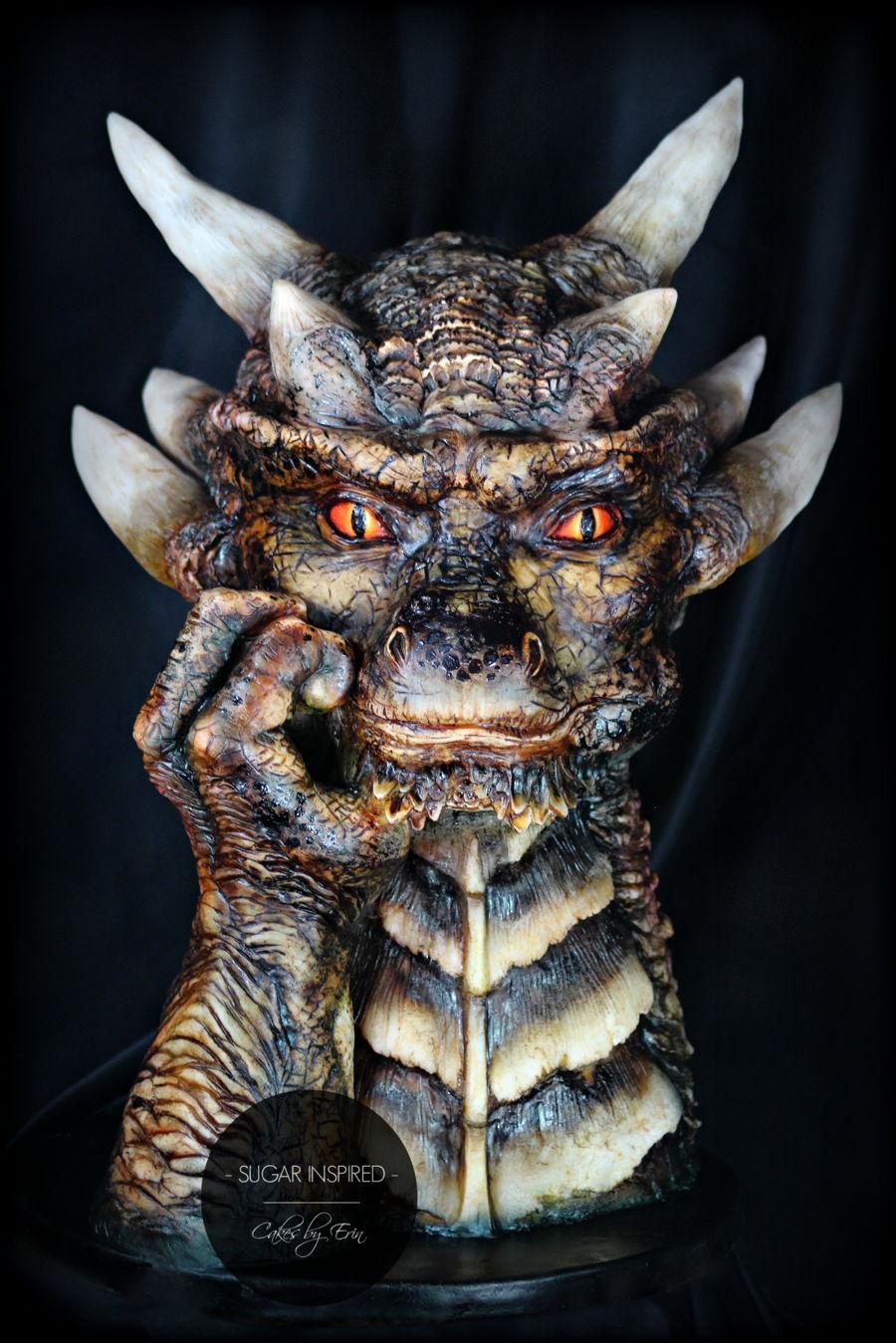 Draco Dragon Cake Cakecentral Com