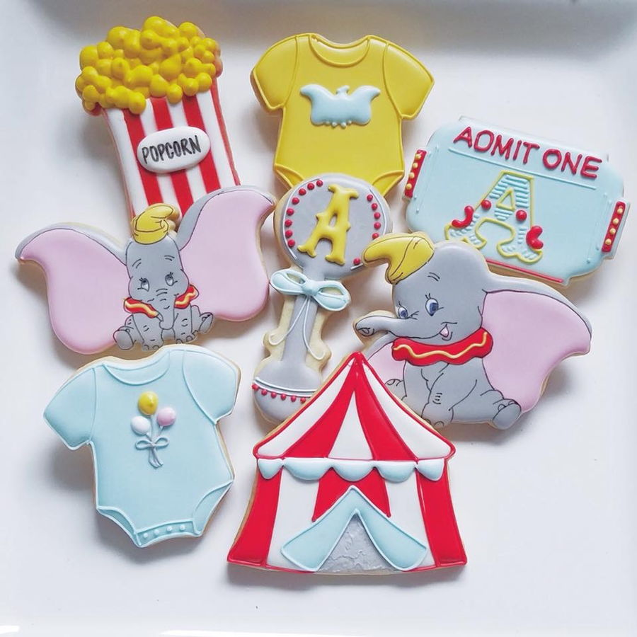Dumbo Cake Decorations