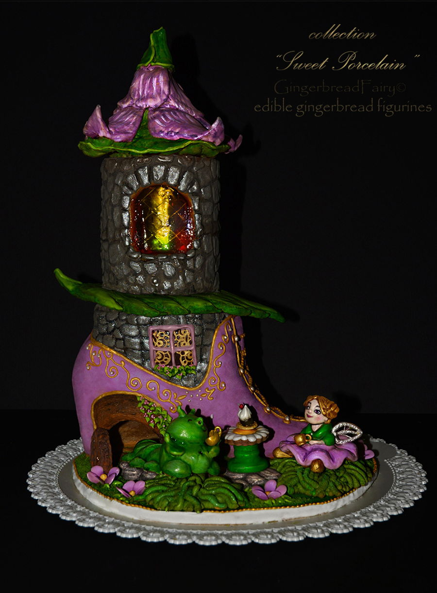 Fairy House Cake Images