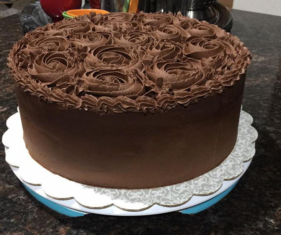 Gluten Free Cake Decorating Icing : Gluten Soy Dairy Free Chocolate Cake - CakeCentral.com