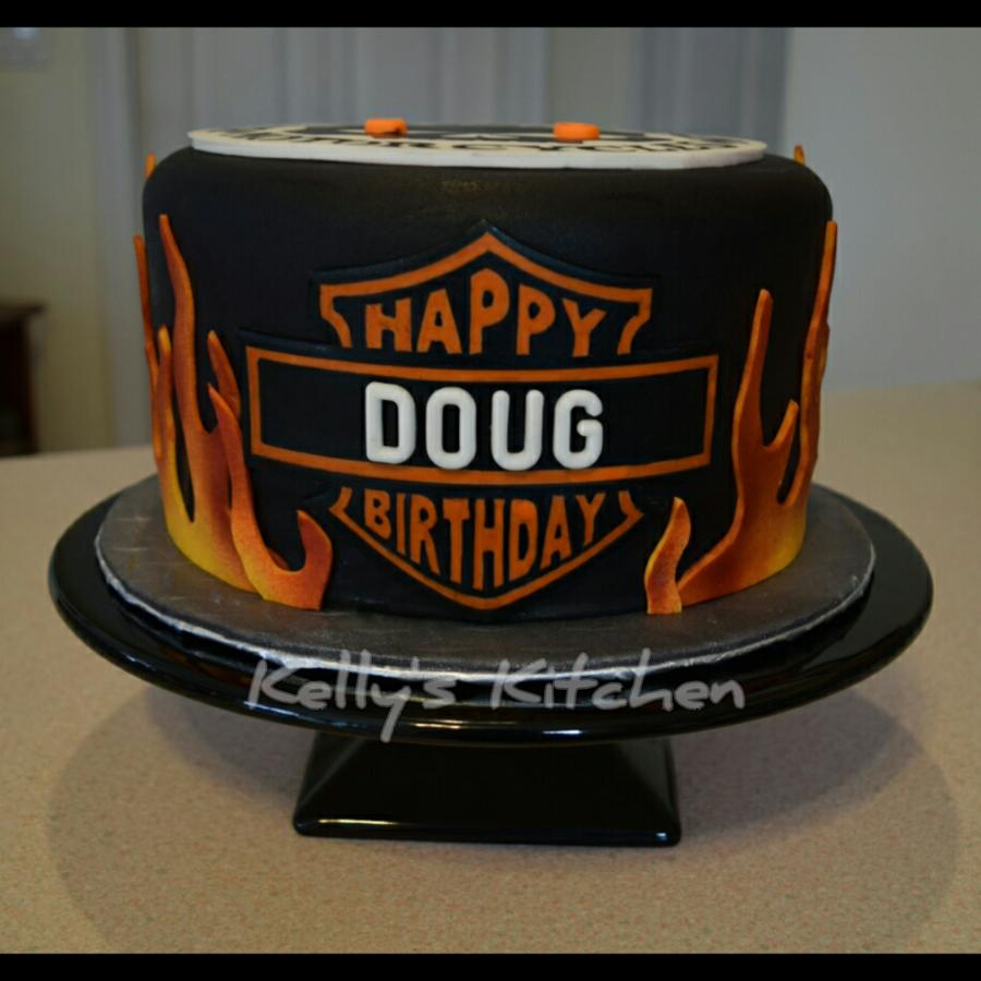 Harley Davidson Birthday Cake Cakecentral Com