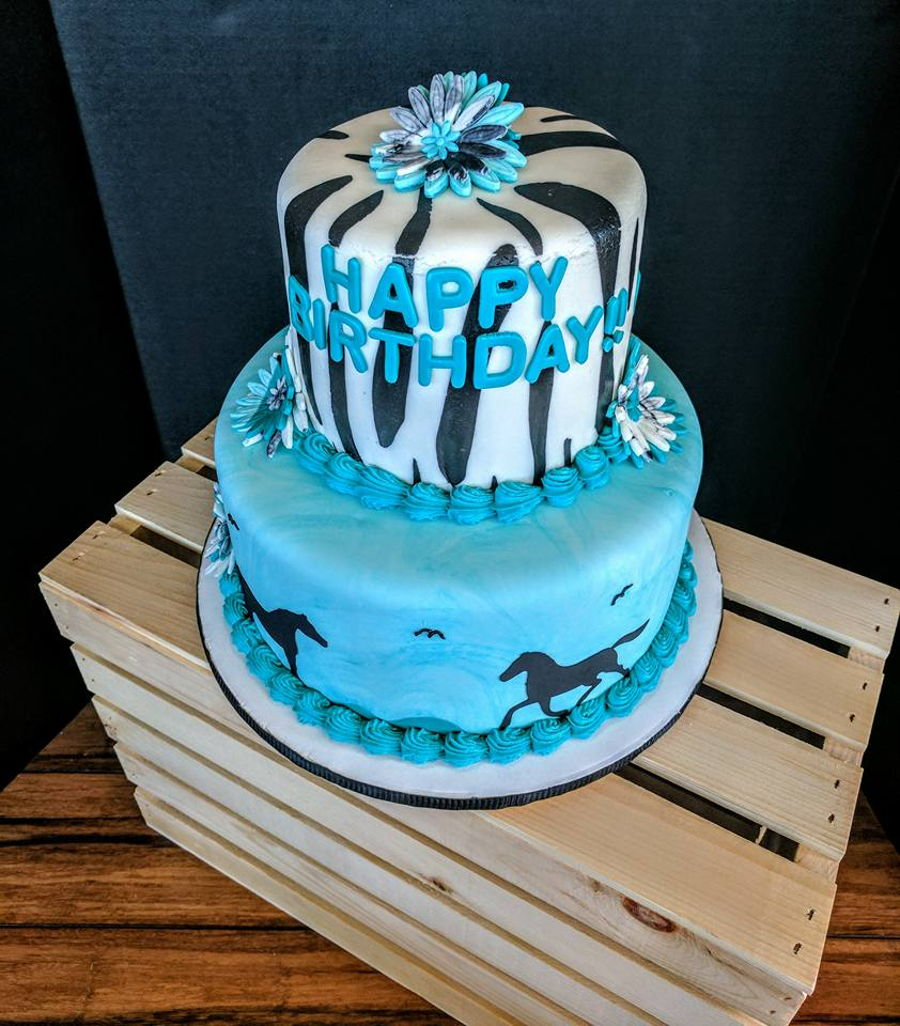 Horse Lover Birthday Cake Cakecentral Com