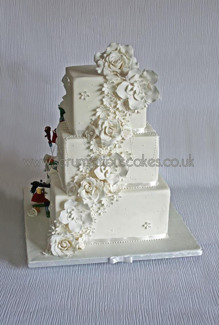 lego superhero wedding cake. Black Bedroom Furniture Sets. Home Design Ideas