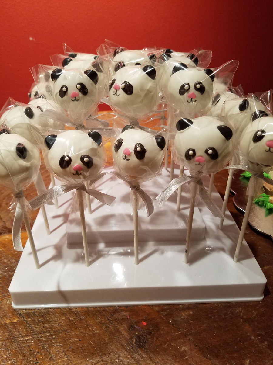 Panda Bear Cake Pops Recipe