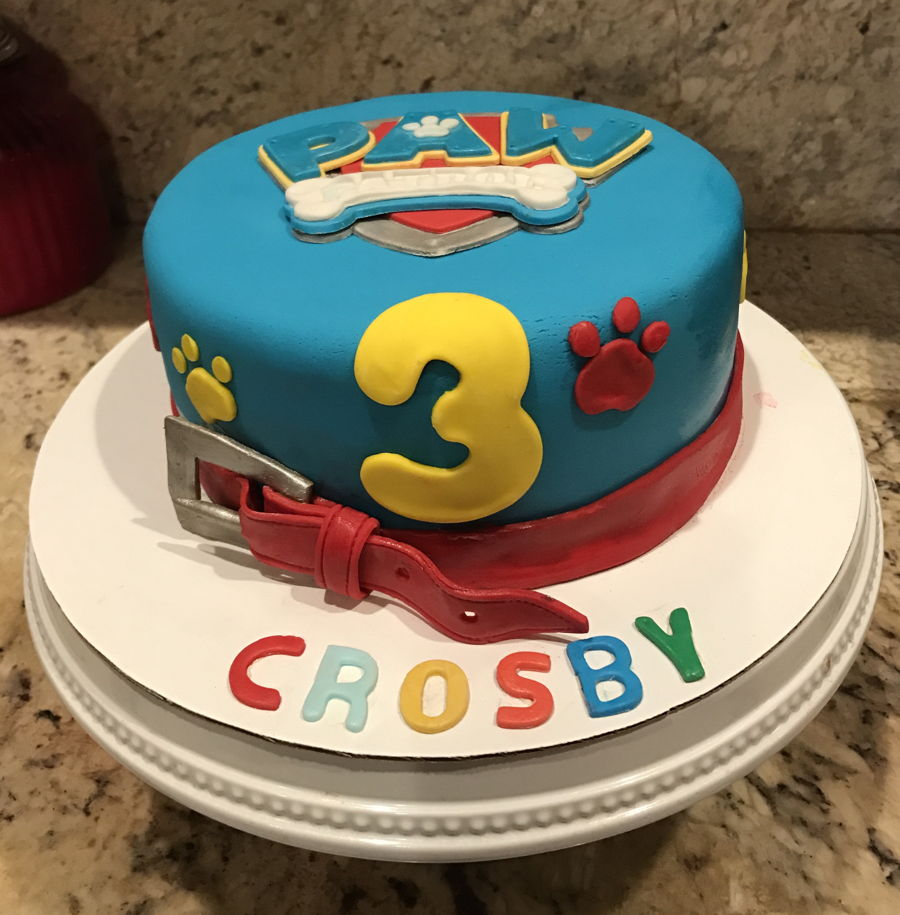 Paw Patrol Images For Cake : Paw Patrol Birthday Cake - CakeCentral.com