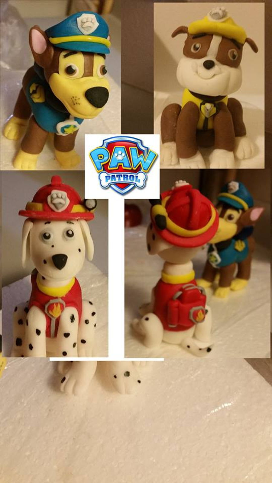 Paw Patrol Pups on Cake Central