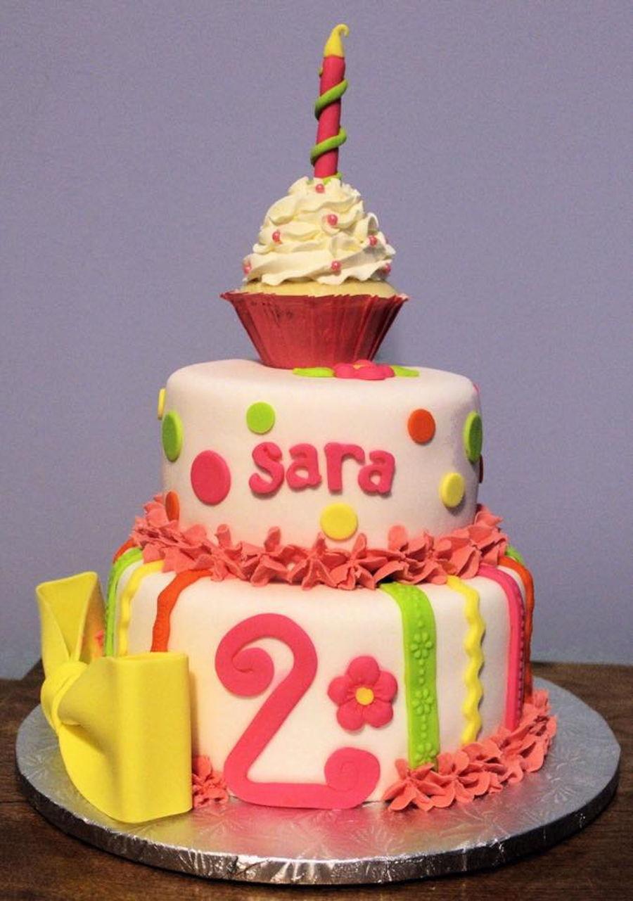 Saras Birthday Cake Cakecentral