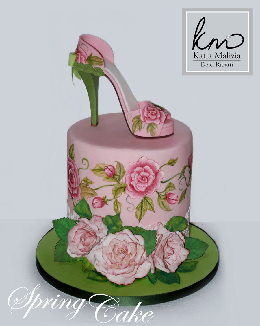 Sping Shoe Cake on Cake Central